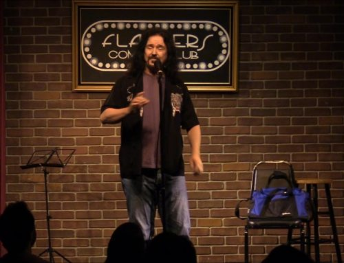 "WALLY'S A STAND-UP GUY Headlines ""We Talk Funny"" comedy show"