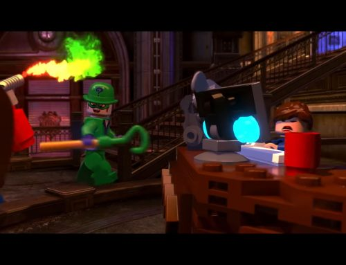WALLY RIDDLES LEGO-STYLE IN NEW VIDEOGAME FROM DC
